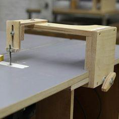 Planos Guía Caladora para sierra de mesa