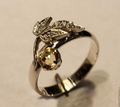 """Купить Серебряное кольцо """"Элегия"""" в интернет магазине на Ярмарке Мастеров"""