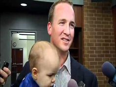 Peyton Manning with son.