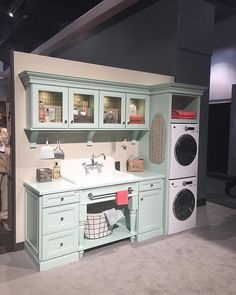 From -- Pale aqua cabinets. From -- Pale aqua cabinets. Diy Kids Kitchen, Toy Kitchen, Kitchen Sets, Kitchen Knobs, Toy Rooms, Home And Deco, Play Houses, Kids Furniture, Girl Room