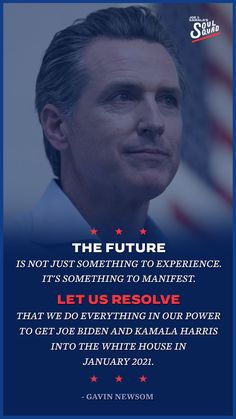 The future is not just something to experience. It's something to manifest. Let us resolve that we do everything in our power to get Joe Biden and Kamala Harris into the White House in January 2021. Democratic National Convention, Kamala Harris, To Manifest, Do Everything, Joe Biden, January, Let It Be, Future, Quotes