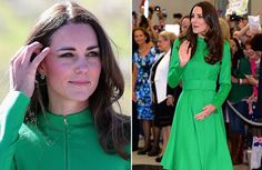 Catherine, Duchess of Cambridge tour Australia/New Zealand Day-18 Catherine, Duchess of Cambridge visit the National Arboretum on April 24, 2014 in Canberra, Australia. Catherine wore a Catherine Walker coat dress