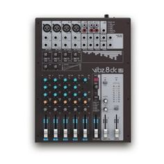 LD Systems VIBZ 8 Channel Mixing Console with DFX and Compressor