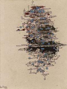 Carol Rama, L'isola degli occhi, 1966 – collezione privata – photo © Studio Dario & Carlos Tettamanzi_xl | Artribune