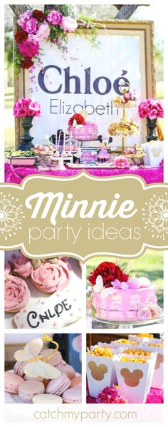 Take a look at this gorgeous oh TWOdles Tea Party! The pink birthday cake is amazing!!  See more party ideas and share yours at CatchMyParty.com