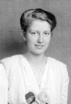Archduchess Hedwig of Austria (1896-1970). She was was the second daughter of Archduke Franz Salvator of Austria and his wife, Marie Valerie of Austria.