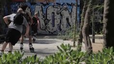 Rollerblade twister in Barcelona Check out Sven, Timmy and Remy as they shred around Barcelona on their Rollerblade® Twister LE skates. Rollerblade Twister, Finding Peace, Barcelona, Street View, Search, Searching, Barcelona Spain