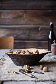 Burl ash wood bowl