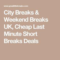 Cheap caravan last minute deals uk