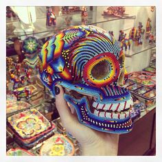 Mexican Skull @pilugallego