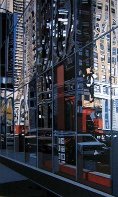detail, Times Square. Richard Estes