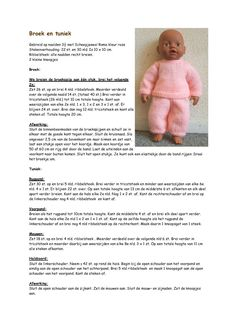 My Little Babyborn - Breien met plezier-My Little Babyborn - Breien met plezier preemieclothes Knitted Doll Patterns, Knitted Dolls, Baby Knitting Patterns, Knitting Dolls Clothes, Crochet Doll Clothes, Baby Doll Diaper Bag, Baby Dolls, Baby Born Clothes, Baby Pop