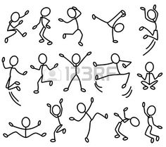 Doodle art 465841155201037307 - The stylised contours of people in movement. Part 2 Source by Art Drawings For Kids, Doodle Drawings, Drawing For Kids, Cartoon Drawings, Easy Drawings, Drawing Sketches, Contour Drawings, Drawing Journal, Drawing Lessons