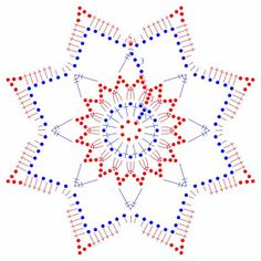 snowflakes crochet 121 schema You are in the right place about lochmuster sitricken grobes Here we o Crochet Snowflake Pattern, Crotchet Patterns, Crochet Stars, Crochet Snowflakes, Doily Patterns, Thread Crochet, Crochet Diagram, Crochet Motif, Crochet Doilies