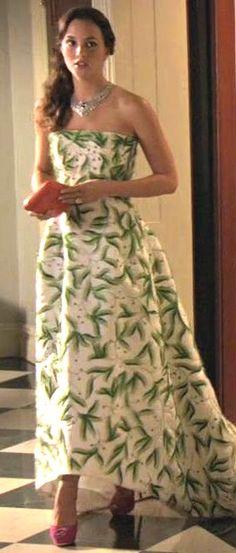 GG S5E1 (Yes, Then Zero): Blair Waldorf in Oscar de la Renta