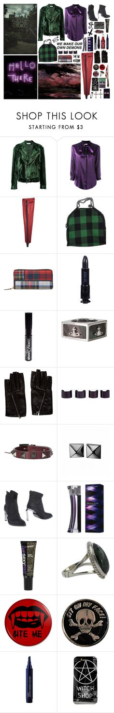 """""""you f*cking beautiful, you luck"""" by nothingisnormal ❤ liked on Polyvore featuring Delada, Nina Ricci, STELLA McCARTNEY, Comme des Garçons, Anna Sui, NARS Cosmetics, Manic Panic NYC, Vivienne Westwood, Chanel and Maison Margiela"""