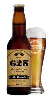 625 Ale Dorada País: Argentina Empresa: Cerveza 625 Tipo de elaboración: Artesanal 3.99º