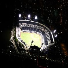 PNC Park north shore Pittsburgh as seen from the #DTVBlimp