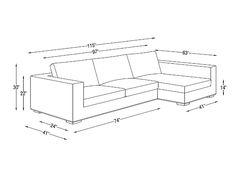 Ordinaire Walters Fabric Sectional Sofa | Interior Define   Interior Define