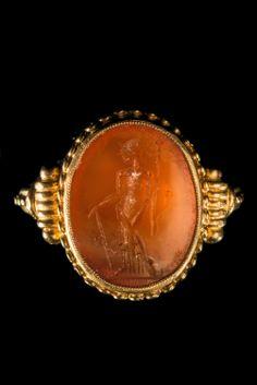Gold Roman Ring