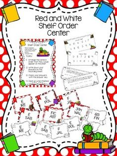 Help your students practice shelf order by having them place these call numbers cards in order. Included are cards with call numbers for the Easy (aka Everybody or Everyone), Fiction, and Nonfiction sections. This center would be perfect for Valentine's Day, Read Across America, or even Christmas, but it is generic enough that you could use it all year long, too. $ on TpT