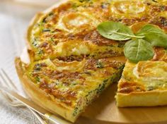 Quiche met spinazie, kaas en ham (Libelle Lekker!)