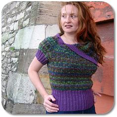 Cathode Pullover free pattern.