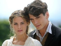 The two great leads in Gran Hotel, a wonderfully entertaining drama from Spain, so delicious you can't help but binge as long as possible...