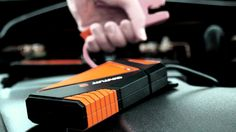 Cyntur JumperPack Mini is a glove compartment–size lithium-ion battery that has enough juice to jumpstart an 8-cylinder engine.