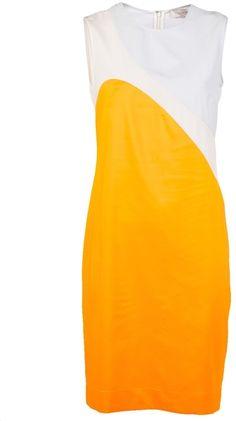 Silk Dress - Lyst