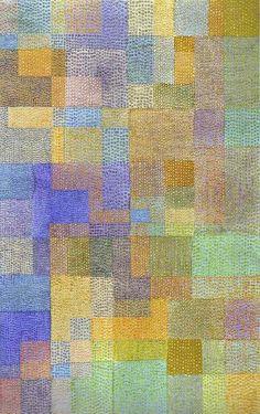 Paul Klee - Polyphony, 1932, Tempera on linen, 66.5 x 106 cm, Emanuel Hoffman Foundation, Kunstmuseum, Basel, Switzerland.