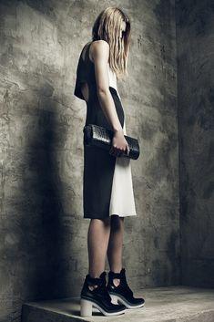 Alexander Wang Resort 2013 Fashion Show - Tamara Weijenberg