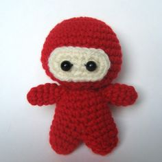 Amigurumi Crochet Ninja Pattern by MsPremiseConclusion on Etsy, $3.50
