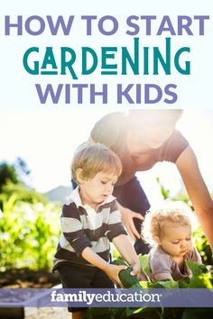 Start gardening with kids with this epic guide! It's the perfect school closure resource! Gardening presents many distance learning opportunities. Educational Activities, Learning Activities, Teaching Resources, Activities For Kids, School Closures, Toddler Discipline, Spring Activities, Family Traditions, Fun Games