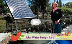 Solar Water Pump - Part 1 Product Information