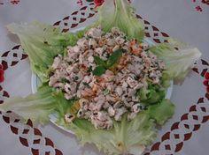 Tahinli Tavuk Salata Tarifi