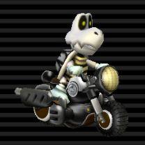 Dry Bones (Light Weight) Bit Bike Video Game Art, Video Games, Mario Kart Characters, Dry Bones, Super Mario Bros, Yoshi, Bowser, Nintendo, Child
