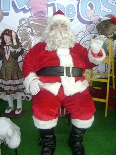 Santa Claus  traditions are celebrated in Puerto Rico.