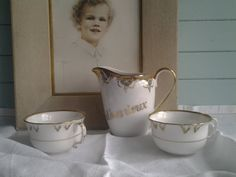 Nous Deux...milk jug...2 cups...French by cheztoietmoi on Etsy...SOLD