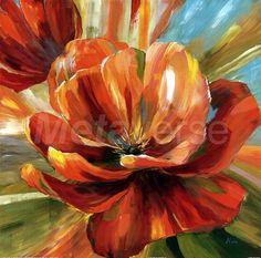 island blossom ii poster print by nan (12 x 12) - Buscar con Google