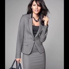 SUITS NOTHING SAYS PROFESSIONAL LIKE A SUIT. PAIR THE JACKET WITH JEANS FOR A MORE CASUAL LOOK OR PAIR THE SKIRT WITH A DIFFERENT TOP. SUITS MAKE GREAT WARDROBE EXTENDERS. Skirts Skirt Sets