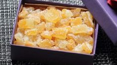 Chef John gives the gift of candied citrus this holiday season with his recipe for candied Buddha's hand citron; so simple and delicious! Fruit Recipes, Candy Recipes, Sweet Recipes, Dessert Recipes, Desserts, Dishes Recipes, Buddha Hand Citron Recipe, Buddha's Hand, Top Secret Recipes