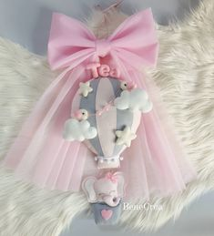 Felt Name, Baby Girl Room Decor, Baby Shower Gifts, Projects To Try, Tulle, Nursery, Creative, Kids, Handmade