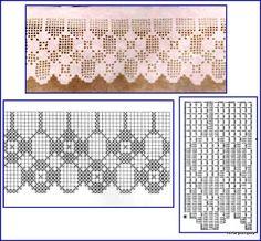 Miria Kroşe VE RESİM: Bir geometrik şekillerle BU SEVİMLİ OUT KİLİTLİ