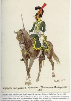 Regimiento de Chevaux-Légers de la Guardia 1811