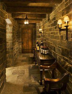 Gil Schafer Wine Cellar