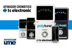 TC Electronic – Polytune Afinador de Guitarra cromático