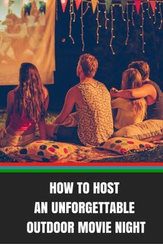 How to Host an Unforgettable Outdoor Movie Night | eBay