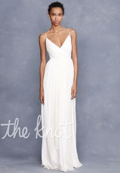 Simple and elegant  Angelique Gown by J. Crew Weddings & Parties,