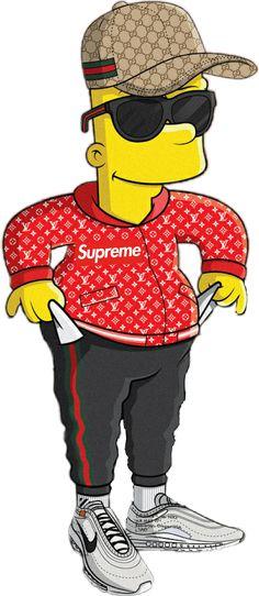 Bart Simpson Supreme gucci sunglasses rich trap luisvui... Gucci Wallpaper Iphone, Supreme Iphone Wallpaper, Simpson Wallpaper Iphone, Trippy Wallpaper, Cartoon Wallpaper Iphone, Nike Wallpaper, Wallpaper Wallpapers, Simpsons Drawings, Simpsons Art
